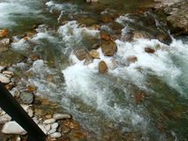 Rápidos en el río Foto de archivo libre de regalías