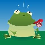 Râ e lollipop ilustração royalty free