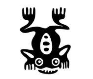 Râ no estilo do Maya ilustração royalty free