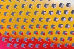 Râpe de fromage Photographie stock libre de droits