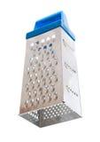Râpe de fromage bleu sur un fond blanc Photographie stock