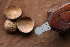 Râpe de noix de coco Image libre de droits