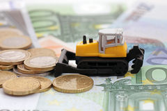 Râteau dans les segments de mémoire de l'argent Photo libre de droits