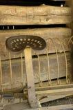 Râteau de foin antique Photographie stock libre de droits