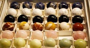 Różnorodni kamienie, kopaliny, kryształy obrazy royalty free