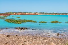 Różnorodny piękno Broome z, colours i, fotografia stock