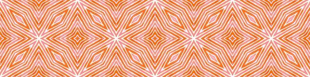 Różowa czerwona Bezszwowa Rabatowa ślimacznica Geometryczny Waterco royalty ilustracja