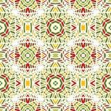 również zwrócić corel ilustracji wektora afrykanina bezszwowy deseniowy Etniczny dywan z szewronami i trójbokami ilustracja wektor