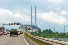 Rügendamm / Rügenbrücke Stock Photography