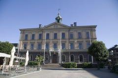 Rådhus de Gävle en la vista delantera de Suecia foto de archivo