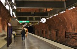 RÃ¥dhuset-Station Lizenzfreie Stockfotos