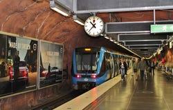 RÃ¥dhuset station royaltyfria foton