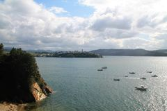 RÃa De Ribadeo, Asturien, Spanien Lizenzfreie Stockfotos