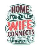Ręka rysuje literowanie - Domowy, wielki projekt dla jakaś zamierza dokąd żona łączy automatycznie Mądrze domowy abstrakcjonistyc ilustracji