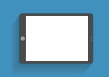 Räcka den hållande smartphonen med tomt avskärmer Arkivbild
