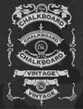 Räcka den utdragna designen för svart tavlabaner- och bandvektorn royaltyfri illustrationer