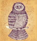 Dekorativ owl Royaltyfri Foto