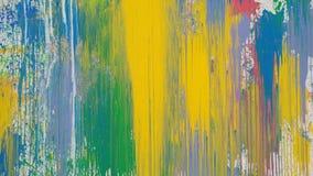 Räcka utdragen olje- målning, bakgrund för abstrakt konst Fotografering för Bildbyråer