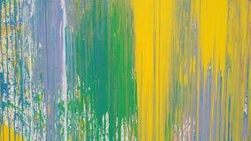 Räcka utdragen olje- målning, bakgrund för abstrakt konst Royaltyfri Bild