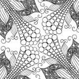 Räcka utdraget med färgpulverbakgrund med klotter, blommor, cirklar Arkivfoto
