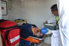 Räddningsaktion 024 Fotografering för Bildbyråer