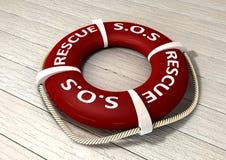 Räddningsaktion Lifebuoy Arkivfoton