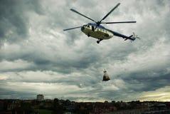 Räddningsaktionbeskickning Royaltyfri Bild