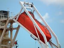 Räddningsaktionfartyg Royaltyfri Bild