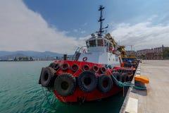 Räddningsaktionfartyget Royaltyfri Foto