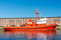 Räddningsaktionfartyget Royaltyfria Foton
