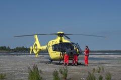 Räddningsaktionhelikopter Royaltyfria Bilder