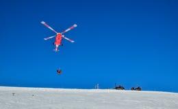 Räddningsaktionhelikopter Royaltyfri Fotografi