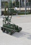 räddningsaktionrobot Royaltyfria Bilder