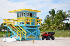 Räddningsaktiontorn, Miami Beach Royaltyfri Fotografi