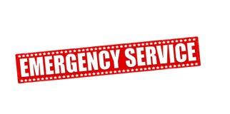 Räddningstjänst royaltyfri illustrationer