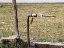 Räddningvatten vid något medel Royaltyfri Fotografi