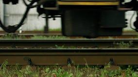 Räder der Serie stock video