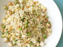 Räka stekt Rice Arkivfoto