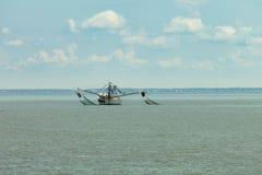 Räkafartyg i South Carolina royaltyfria foton