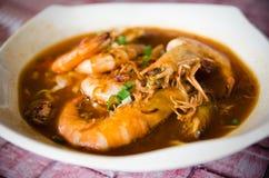 RäkaMee curry Royaltyfri Bild