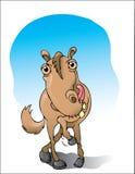 räkna hästen stock illustrationer