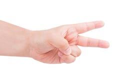 Räkna manhänder Fotografering för Bildbyråer