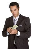 räkna pengarpersonen fotografering för bildbyråer