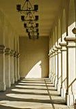 räknad walkway royaltyfri foto