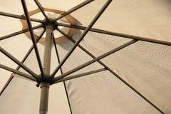 räknade droppar rain parasollen Royaltyfri Fotografi
