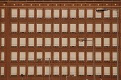 räknade fönster Fotografering för Bildbyråer