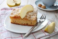 räknade geléskivor för äpple cake Arkivbilder