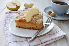 räknade geléskivor för äpple cake Royaltyfria Bilder