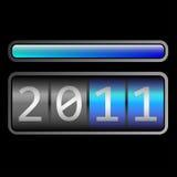 räknare 2011 Arkivfoto