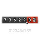 räknare Arkivbild